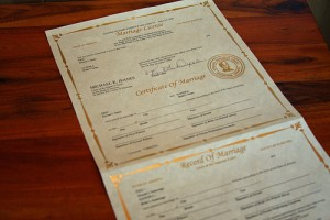Arizona Marriage License